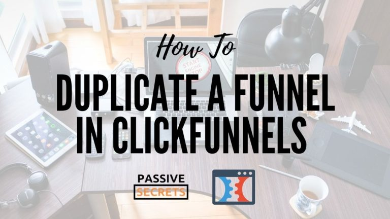 how to duplicate a funnel in clickfunnels