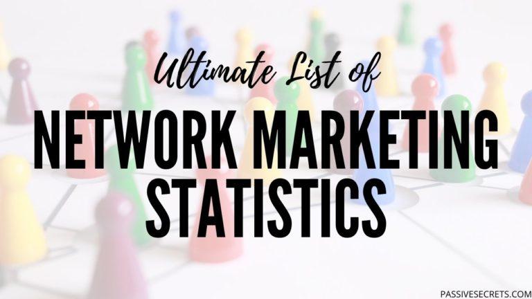 multi level MLM network marketing statistics